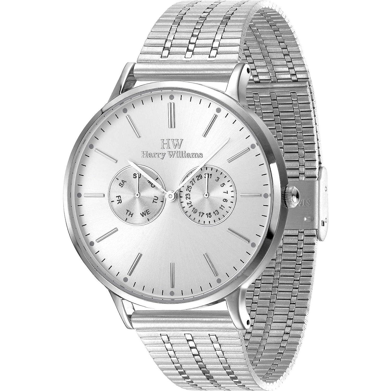 Multifunktions-Armbanduhr Herren Harry Williams Sportliche Cod. hw-2402j-04 M