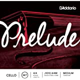 D'Addario J1010-4/4M Prelude Cello Saitensatz Kohlefaserstahl/Nickel 4/4 Medium