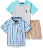 US Polo Assn Baby Boys' Shorts Set