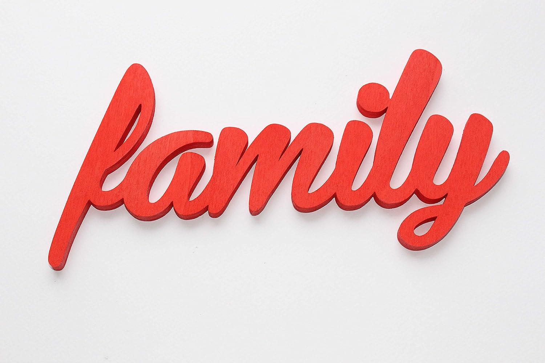 Family Handmade Wooden Decor Sign, Choose your colour, Mia Workshop, Custom Orders Mia Studio