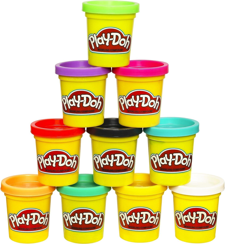 Play-Doh – Funda de Colores, Paquete de 10: Amazon.es: Juguetes y ...