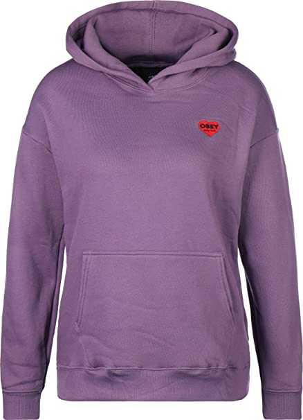Obey Lonely Hearts W Sudadera con capucha grape: Amazon.es: Ropa y accesorios