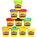 Play-Doh Modeling Compound 10 Pack Case of Colors, Non-Toxic, Assorted Colors, 2 Oz Cans, Ages 2 & Up, (Amazon Exclusive), Mu