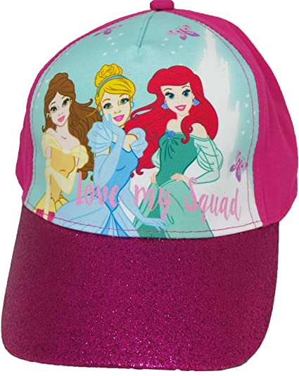 abcdcb192a8b6 Image Unavailable. Image not available for. Color  Disney Girl s Princess  Pink Hat ...