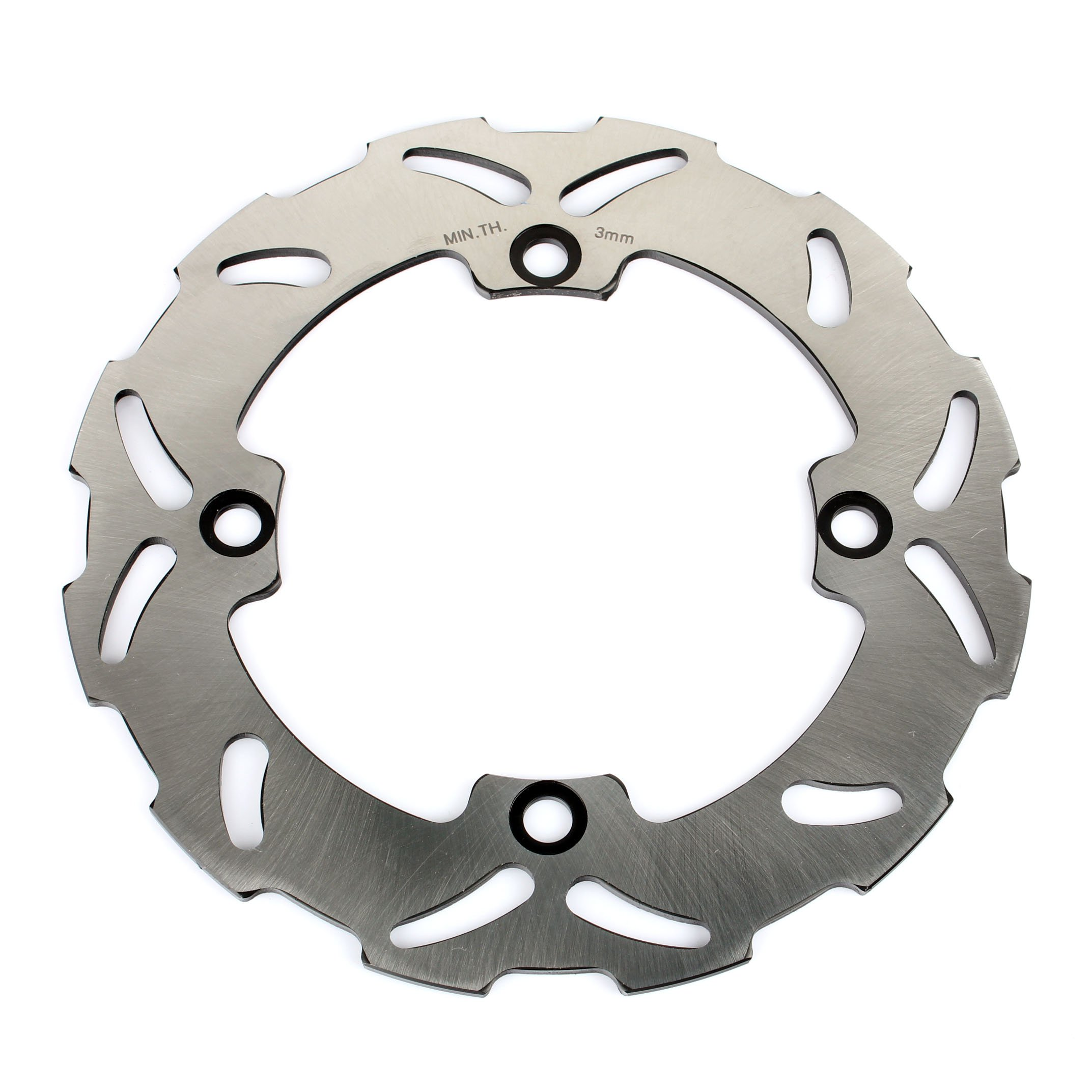 TARAZON 220mm Rear Brake Disc Rotor for Honda CR125 CR250 1989-1996 CR500 1989-2001