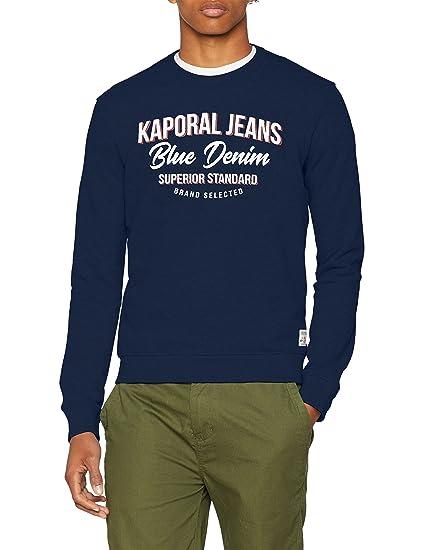 65d2bb24d7638 Kaporal Fuol Sweat-Shirt Homme  Amazon.fr  Vêtements et accessoires