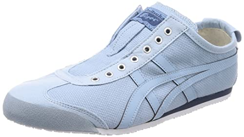 Asics Onitsuka Tiger Mexico 66 Slip-On, Scarpe da Ginnastica Basse Unisex-Adulto, Blu (Smoke Light Blue 4444), 37 EU