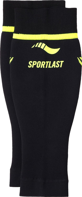 Sportlast Pro Pantorrilleras de compresión, Negro/Amarillo, M P410NYM