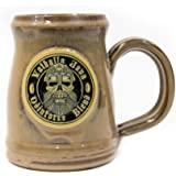 2017 Valhalla Java Ceramic Tankard - Handmade in the U.S.A - Sandstone Colored - 18 Ounce