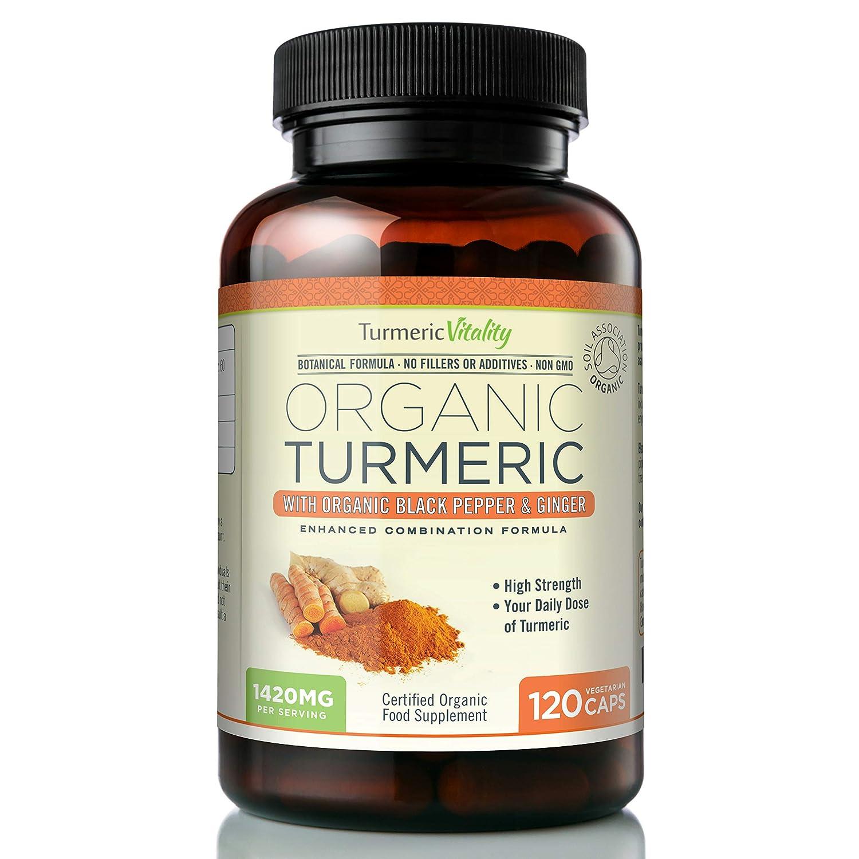 Turmeric Vitality Organic Turmeric Curcumin