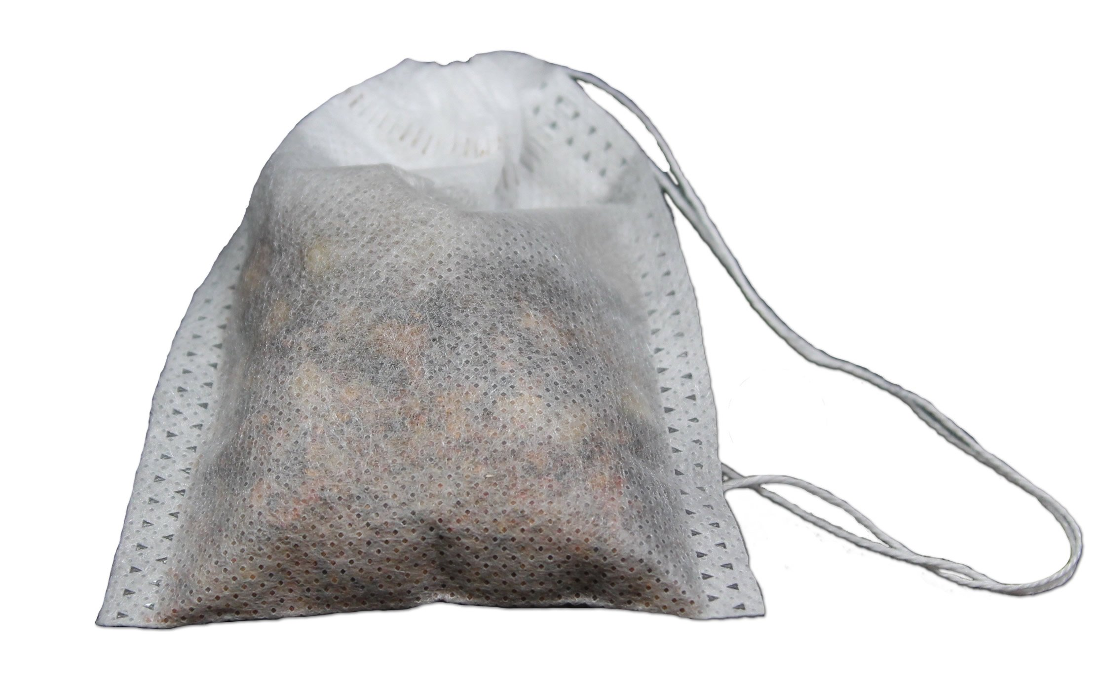 Special Tea 2500 Count Woven Style Draw String Bag, Large/3.14'' x 3.93''/80 x 100mm, White