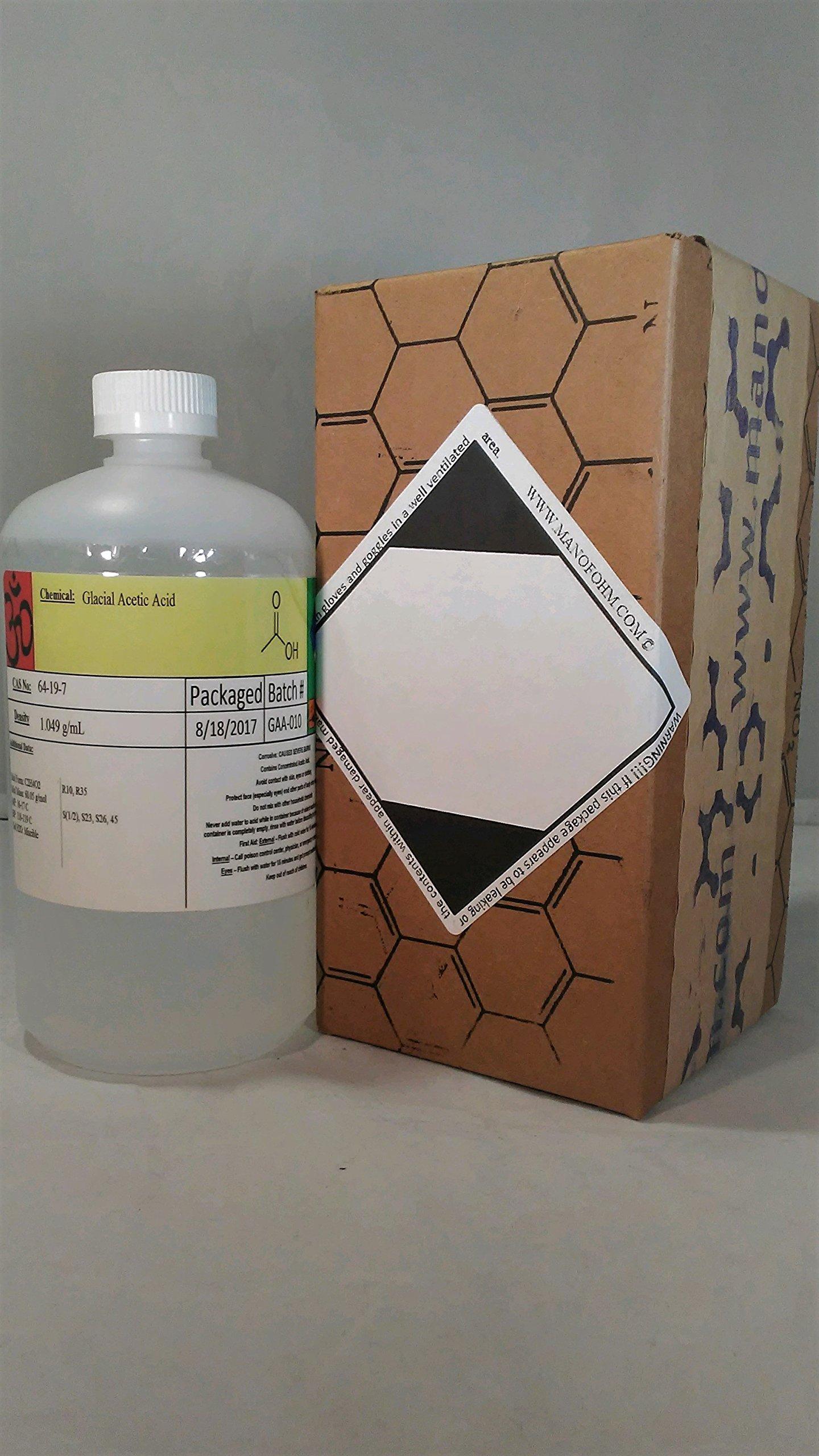 Glacial Acetic Acid 1x Quart (32fl. oz)