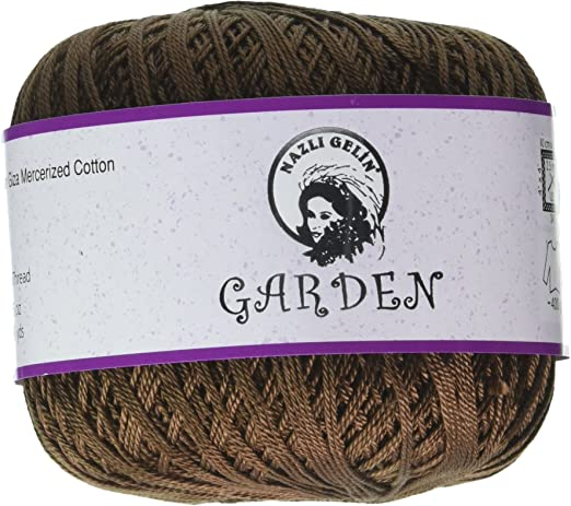 Universal hilo nazli Gelin jardín algodón egipcio de ganchillo ...