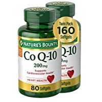 Nature's Bounty CoQ10 Dietary Supplement, Supports Cardiovascular and Heart Health...