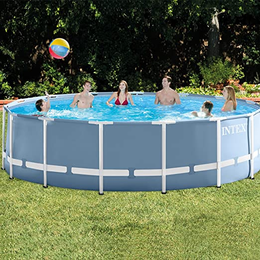 Intex 26736NP - Piscina desmontable Prisma Frame 457 x 122 cm, 16.805 litros: Amazon.es: Jardín