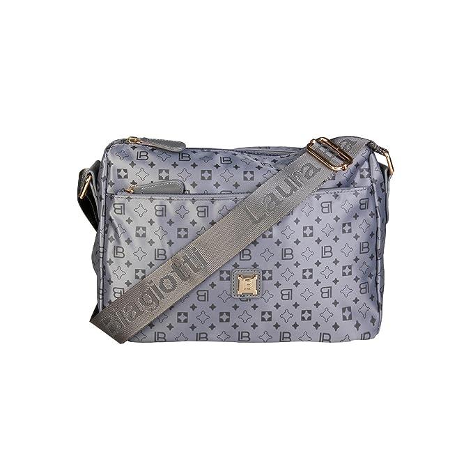 5881b0253f Laura Biagiotti LB17W101-3 Borse a tracolla Donna Grigio NOSIZE: Amazon.it:  Scarpe e borse