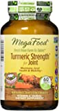MegaFood - Turmeric Strength for Joint, Curcumin Support for Healthy Inflammation, 60 Tablets