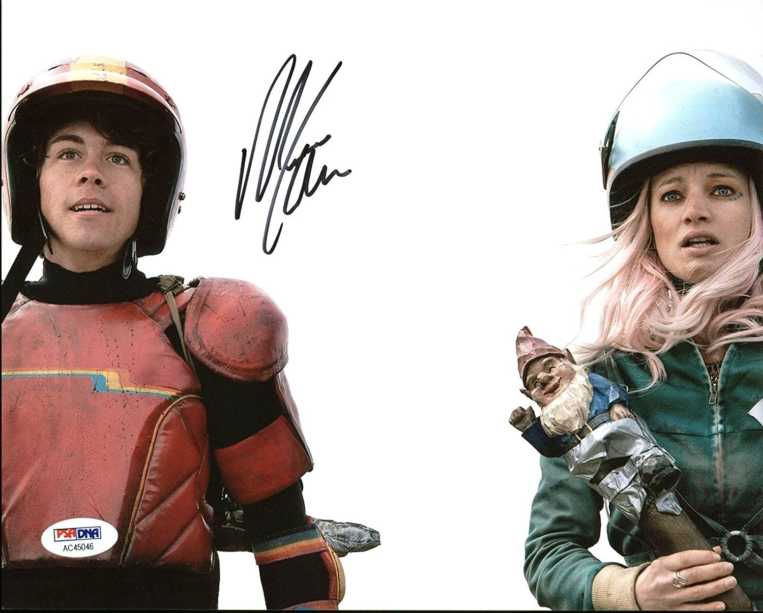 Munro Chambers Turbo Kid Signed 8X10 Photo #AC45046 PSA/DNA Certified at Amazons Entertainment Collectibles Store