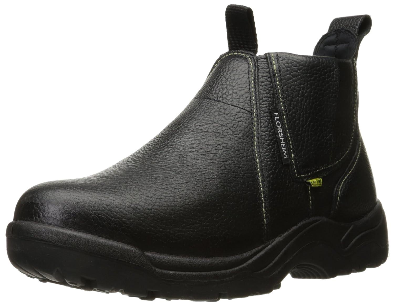 Florsheim Work Men 's Hercules fe690作業靴 B006MY8ZOQ  ブラック 6.5 D(M) US