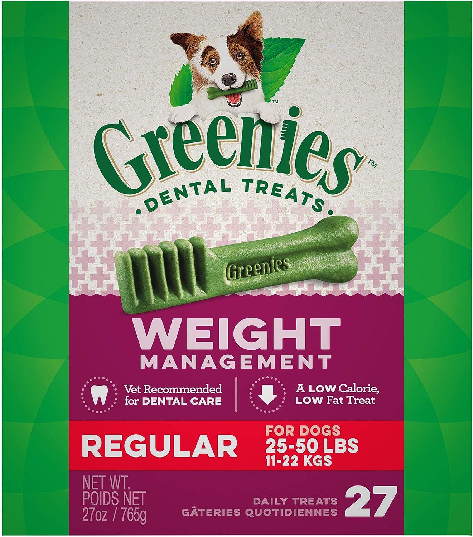 Greenies Weight Management Dental Dog Treats, 27 oz.