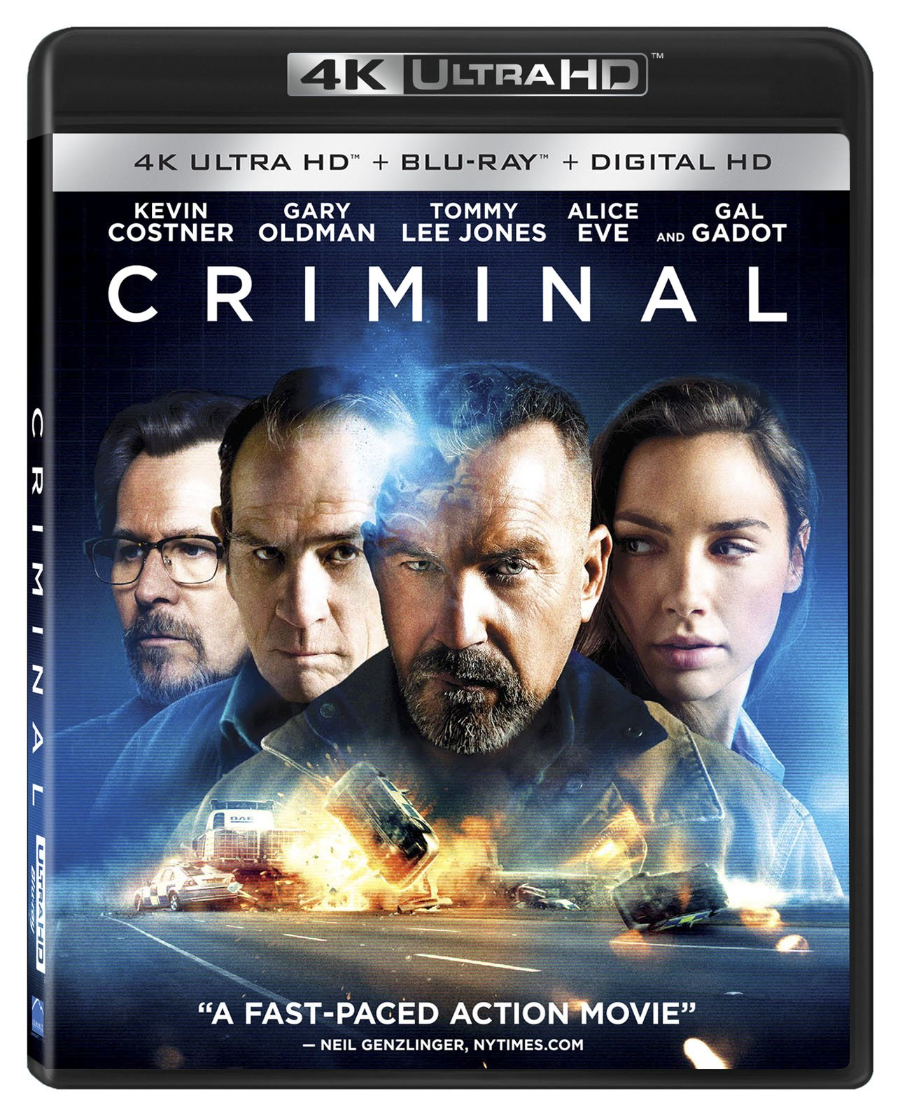 4K Blu-ray : Criminal (4K Mastering, Widescreen, 2 Pack)