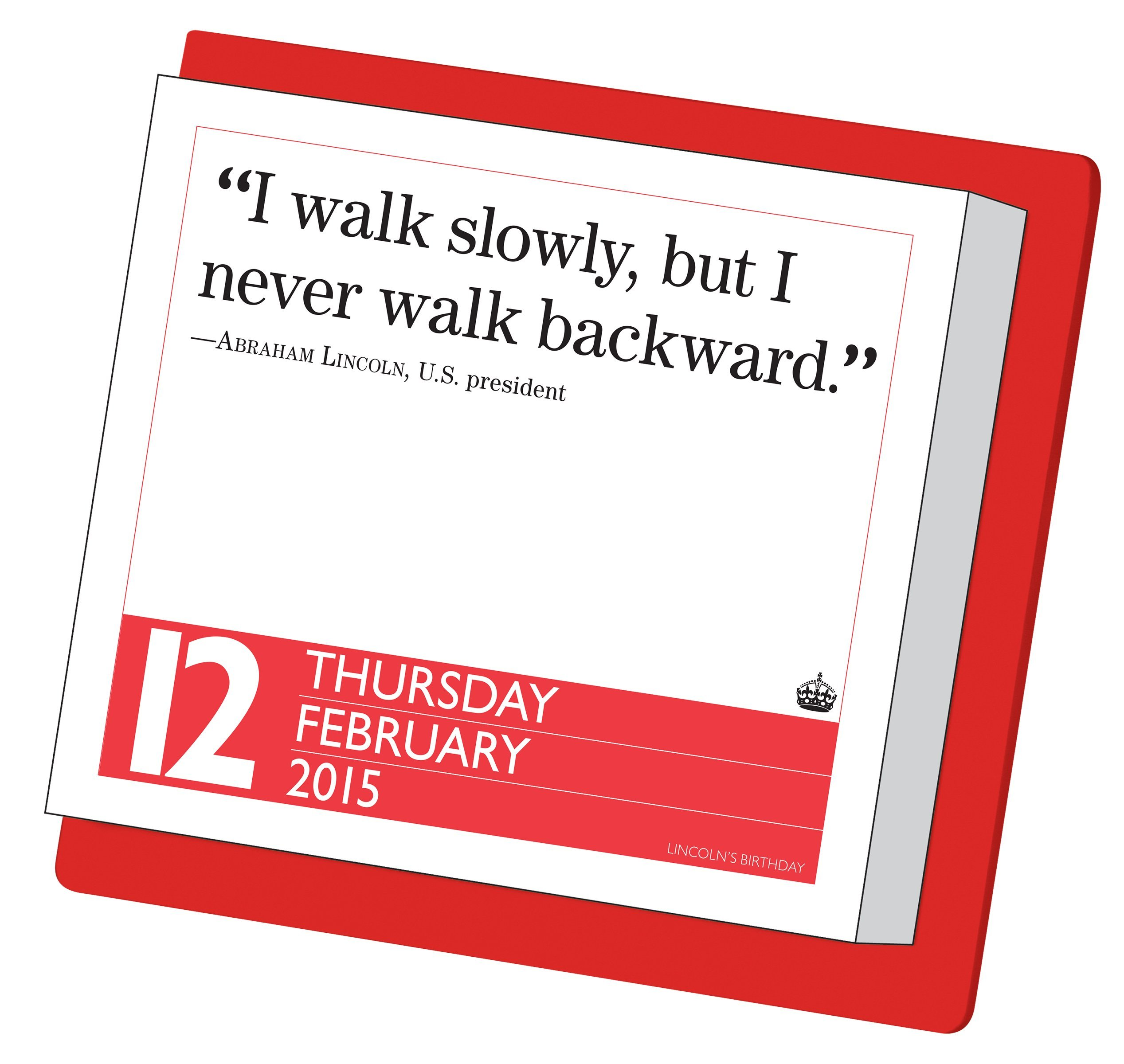 image relating to Page a Day Calendar named Preserve Serene and Convey Upon 2015 Web site-A-Working day Calendar: Workman