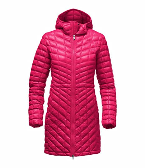 1eccb8b20 The North Face Thermoball Hooded Insulated Parka Women's Jacket Cerise Pink