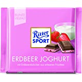 RITTER Sport yogurt fragola, 12 Pack (12 x 100 G)