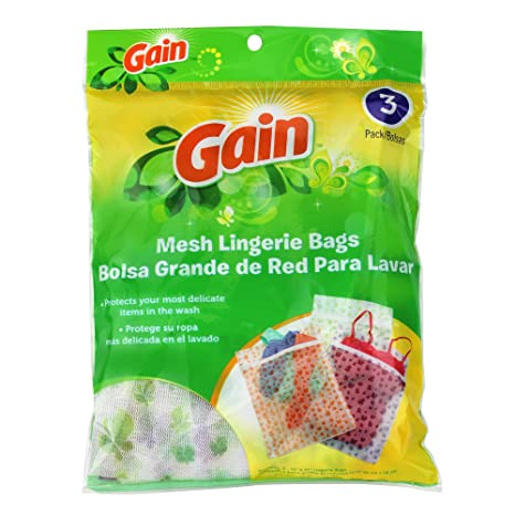 Amazon.com: Gain Mesh Lingerie Bag Pack of 3: Home & Kitchen