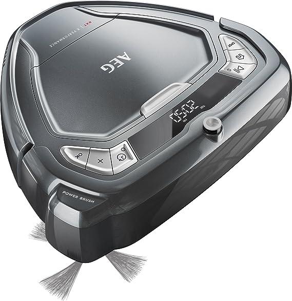 AEG RX7-1-TM Robot Aspiradora, sensor de infrarrojos, barrera virtual, mando distancia, 75dB: Amazon.es: Hogar