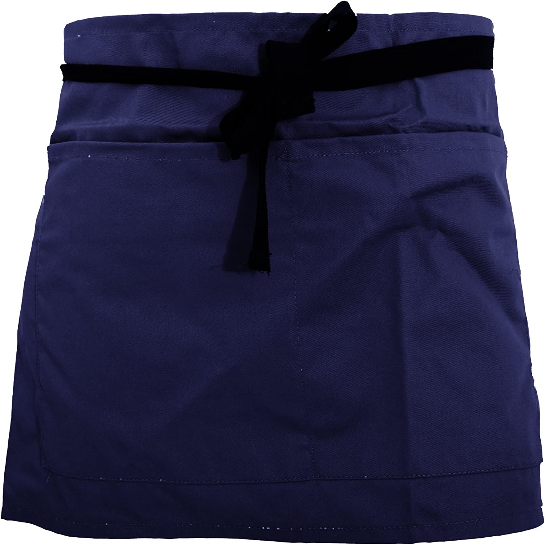 ONE Navy Warrior Pocket Waist Workwear Apron