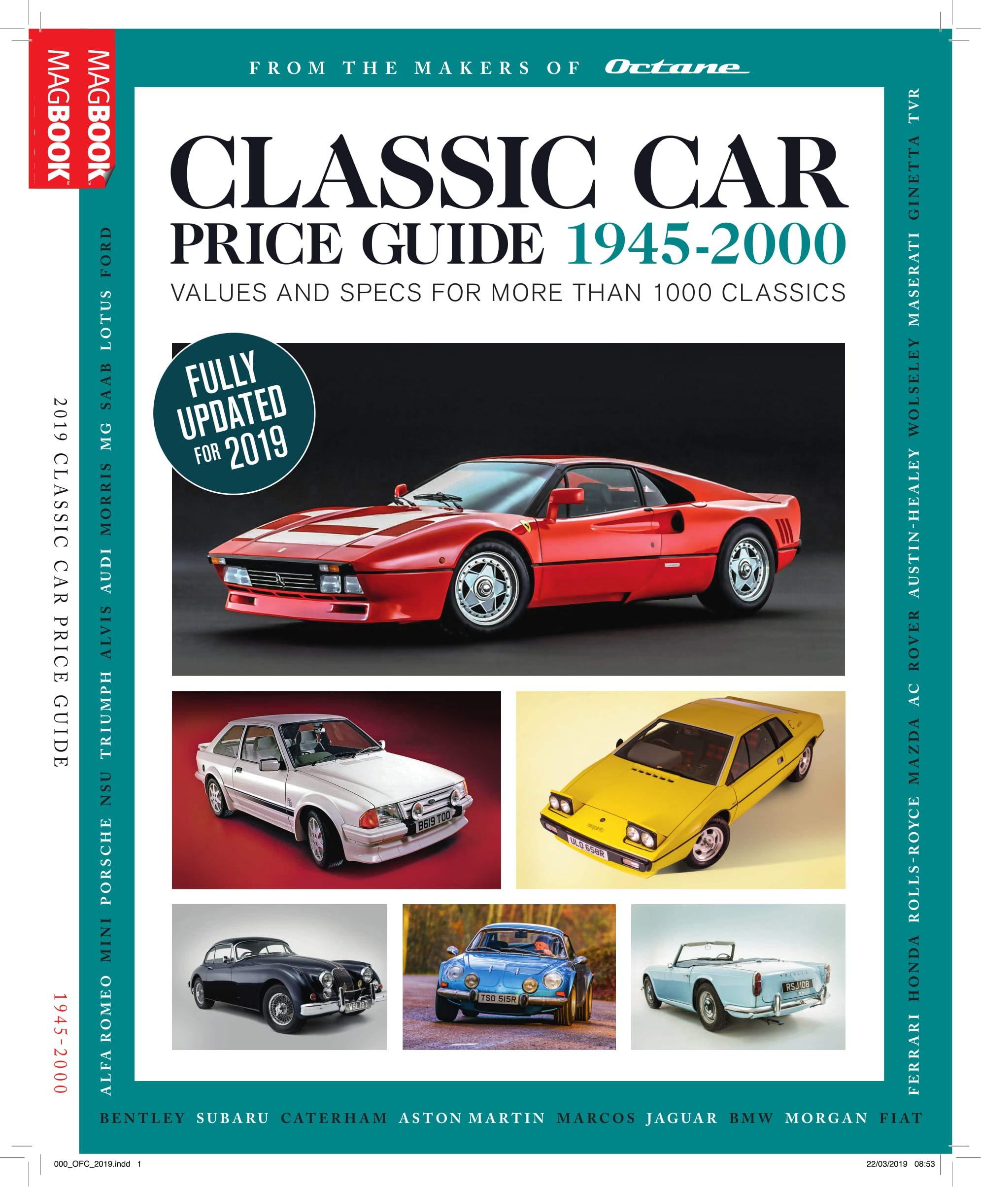 Classic Car Price Guide 2019 Amazon Es Octane Magazine Libros En Idiomas Extranjeros