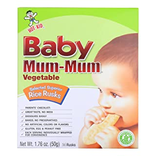 Hot Kid Baby Mum Rice Husk - Vegetable - Case of 6-1.76 oz.