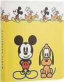 FUJICOLOR アルバム ポケット チェキアルバム ミッキー&プルート [ 32枚収納 ] チェキ/カード 21~50枚 キャラクター イエロー 56355