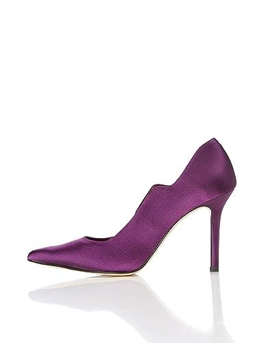 FIND Escarpins À Talons Hauts Bouts Pointus Femme  Amazon.fr  Chaussures et  Sacs 731194cd8306