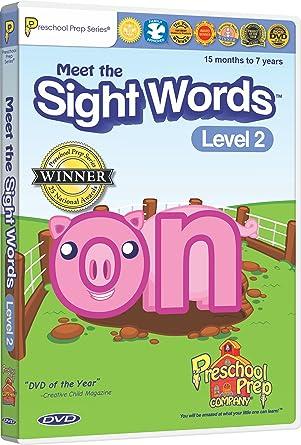 Meet The Sight Words 2 Preschool Prep Company