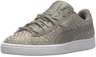 super popular e0341 02070 PUMA Women's Basket Satin En Pointe Wn Sneaker