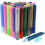 Imagine Studios Glitter Glue Pens (72 Count), Assorted Colors