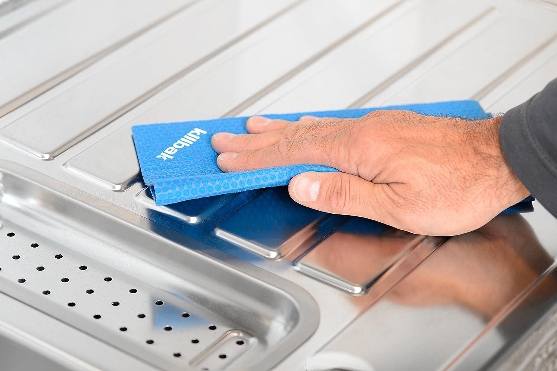 ... microfibra - Nueva tecnología: 99% menos bacterias y gérmenes por iones de plata, sin mal olor, sin química, material muy absorbente ideal para limpiar ...
