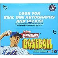 $99 » 2021 Topps Heritage Baseball Retail Display Box 24 Packs