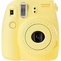 Fujifilm Instax Mini 8 Fotocamera Istantanea per Foto Formato 62 x 46 mm, Giallo