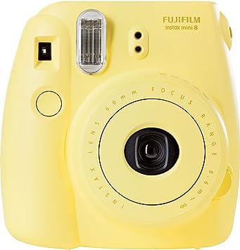 Fujifilm Instax Mini 8 - Cámara analógica instantánea (flash, velocidad de  obturación fija de 1 60 s), color amarillo  Fujifilm  Amazon.es  Electrónica 4b518b3c0f