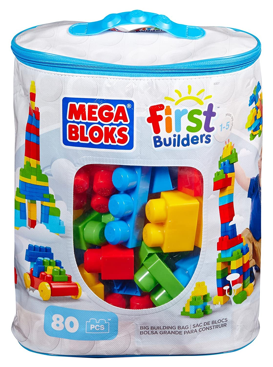 little tikes cozy truck mega bloks 80 piece big building bag
