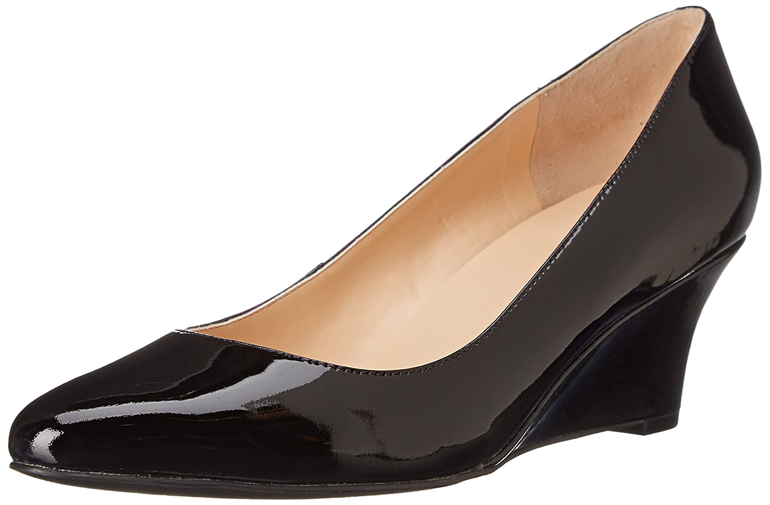 Cole Haan Women's Catalina Wedge Pump B000MLFBJM 6.5 B(M) US|Black Patent
