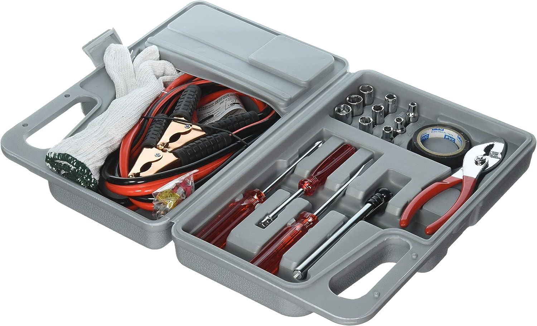 Tank Technology Roadside Emergency Tool and Auto Kit – 30 Piece: Automotive