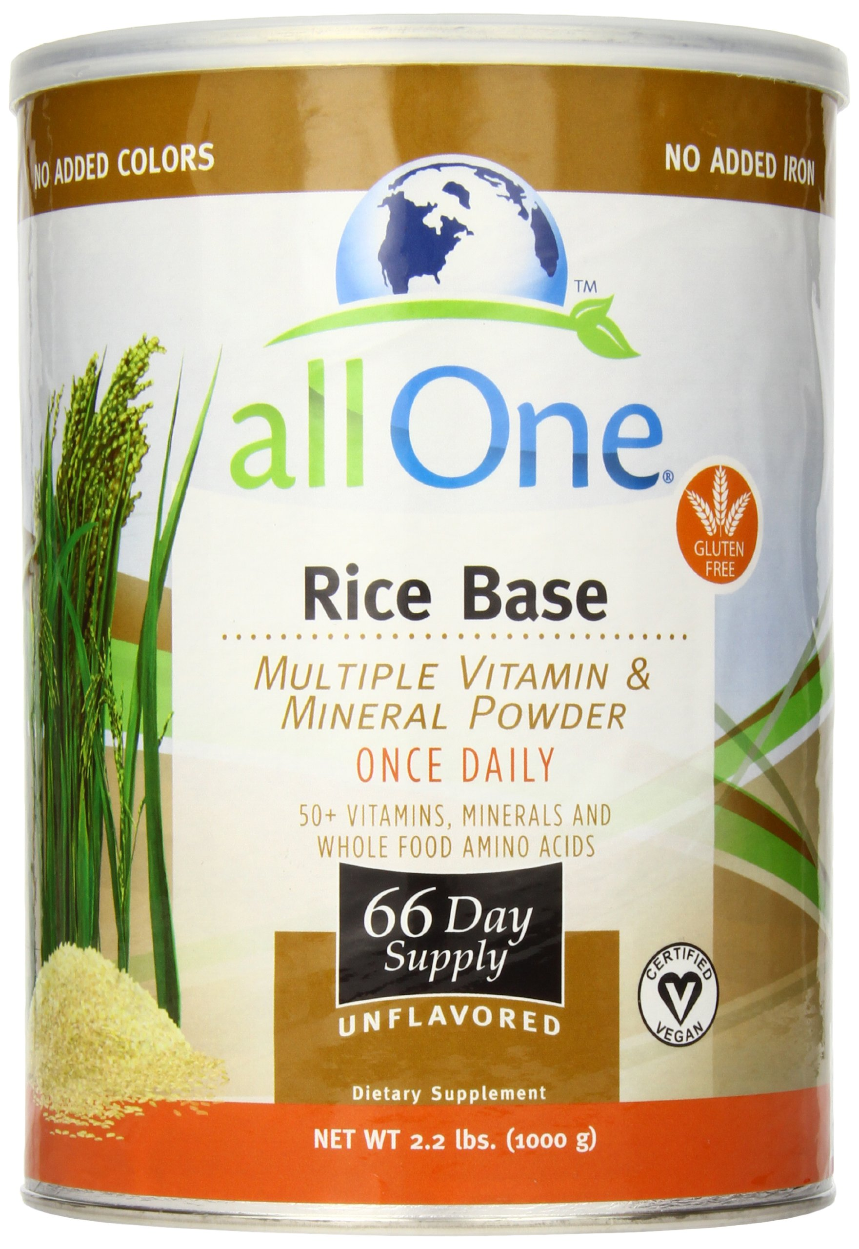 All One Nutrient Powder Rice Base All One 2.2 lbs Powder