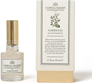 product image for Caswell-Massey New York Botanical Garden Gardenia Eau De Toilette Perfume Spray – Floral Fragrance for Women, Made in USA – 1.7 Ounces