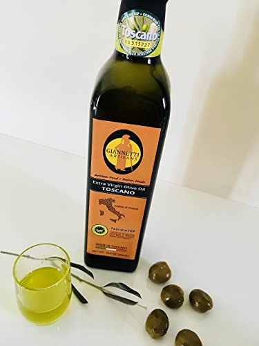Giannetti Artisans Extra Virgin Olive Oil from Tuscany (Certified ...