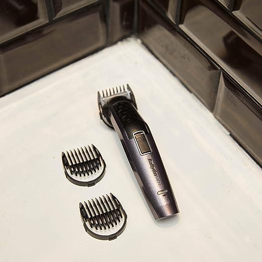 BaBylissMEN MT727E Recortadora para cuerpo, barba, nariz y orejas ...