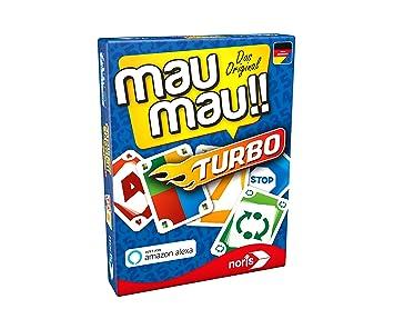 Noris Lernspiele 608131751 MAU Turbo, Tarjeta Parte - Sólo con Amazon Alexa Parte Bar: Amazon.es: Juguetes y juegos